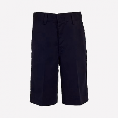 Navy Bermuda With Knee Darts - KG1-G3