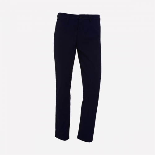 Boy Navy Trouser With Back Elastic - KG1-KG2