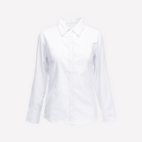 White Long Sleeve Blouse With Out Logo - KG1-KG2