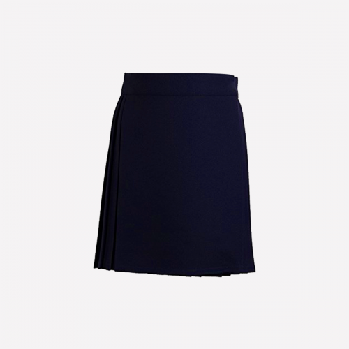 Navy Knee Length Skirt - G1-G5